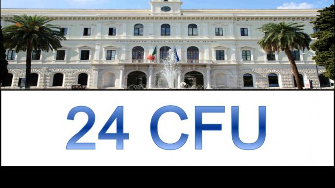 Calendario Lezioni Uniba.24 Crediti Offerti Da Uniba 24 Cfu